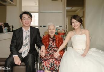 婚禮攝影:Mark&海蛙  婚禮錄影:鍾愛一生  婚宴場地:台北國賓