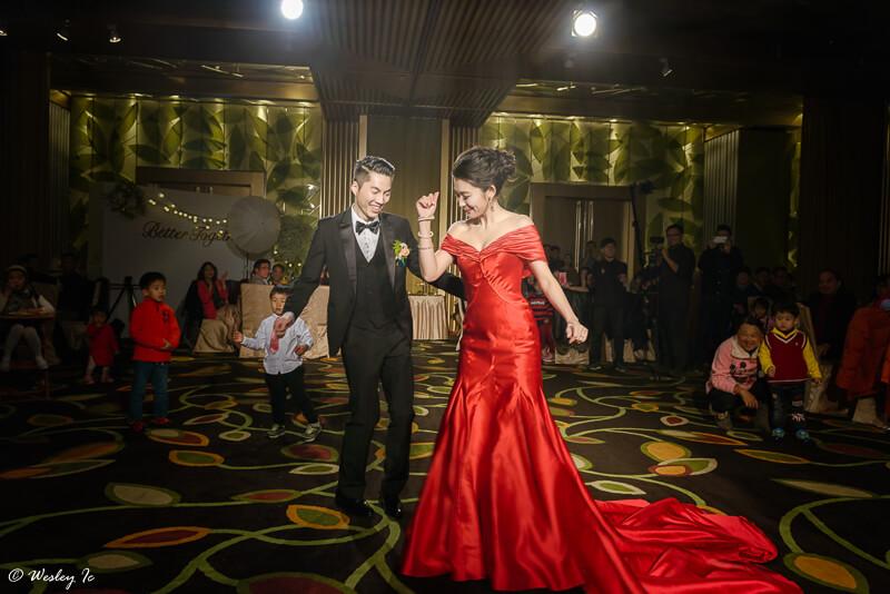 婚禮攝影 : Wesley&虹興  婚禮錄影 : 自然醒  造型 : (Vanessa O) Ayano  婚宴場地:大直典華