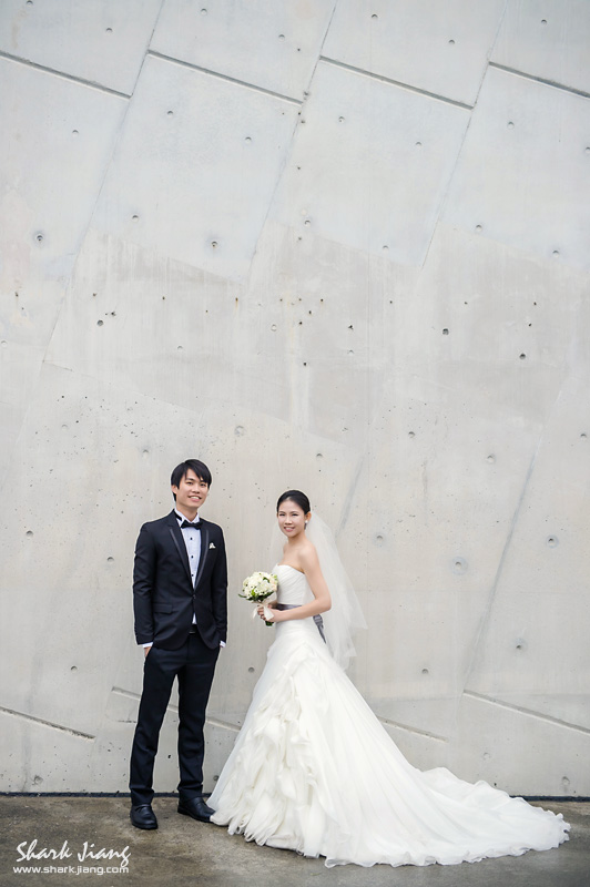 十三行博物館婚紗