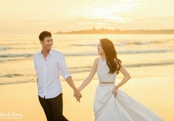 海邊沙灘婚紗照