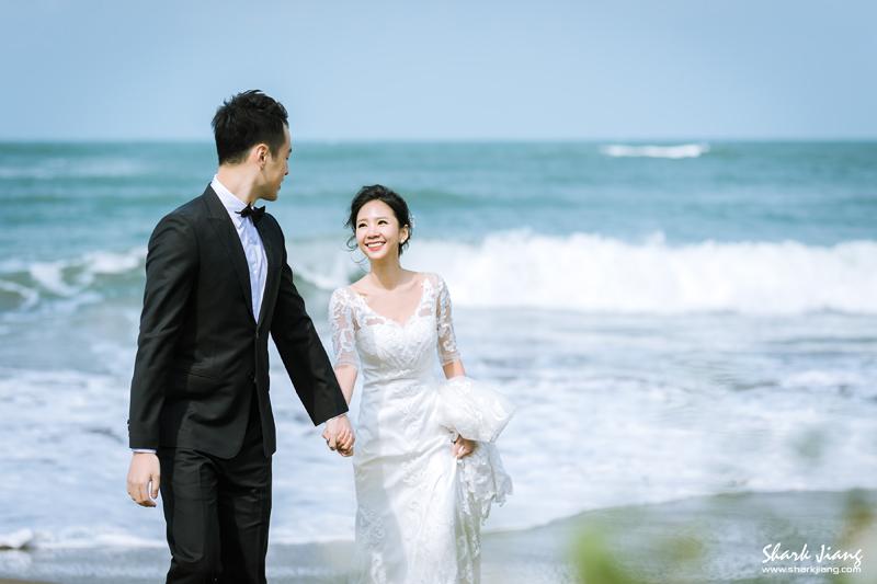海邊婚紗照