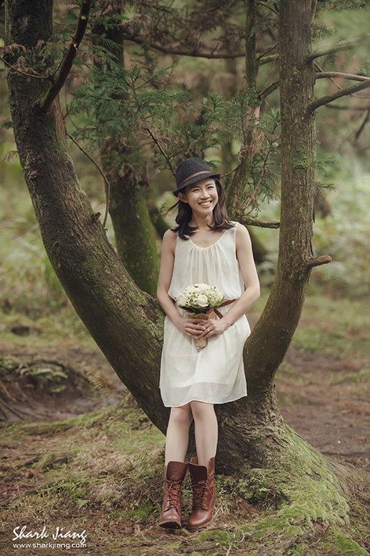 森林婚紗照