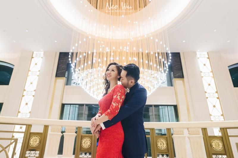 新人在海外已經辦過婚禮了,  這場是回來台灣的補請宴客。  雖然只是單宴客,  但席間仍是歡笑聲不斷,  有榮幸跟新人一起度過一個輕鬆歡樂的夜晚 ^_^  婚攝:Neo Wu+狗狗  宴客場地:台北美福大飯店