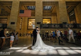 [ 紐約婚紗景點 ] 紐約中央車站 Grand Central Terminal