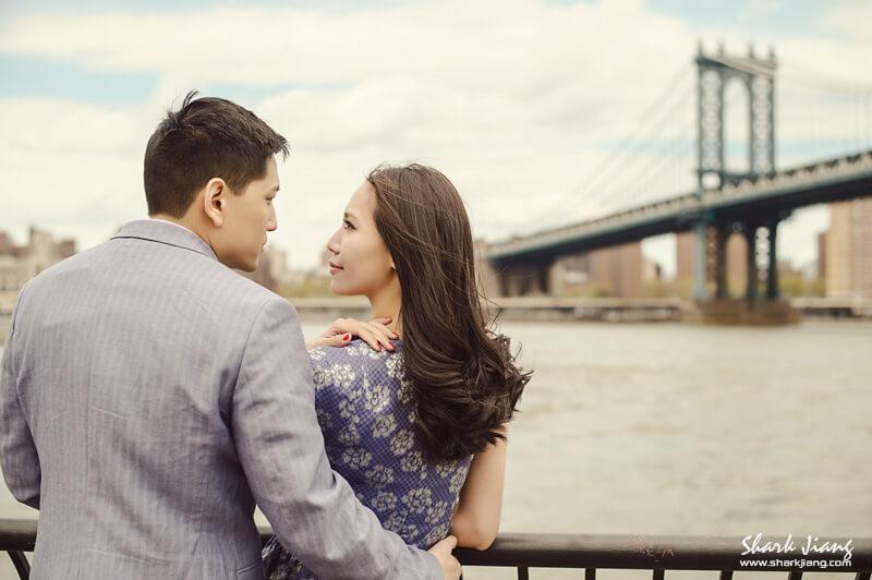 紐約布魯克林Dumbo婚紗照