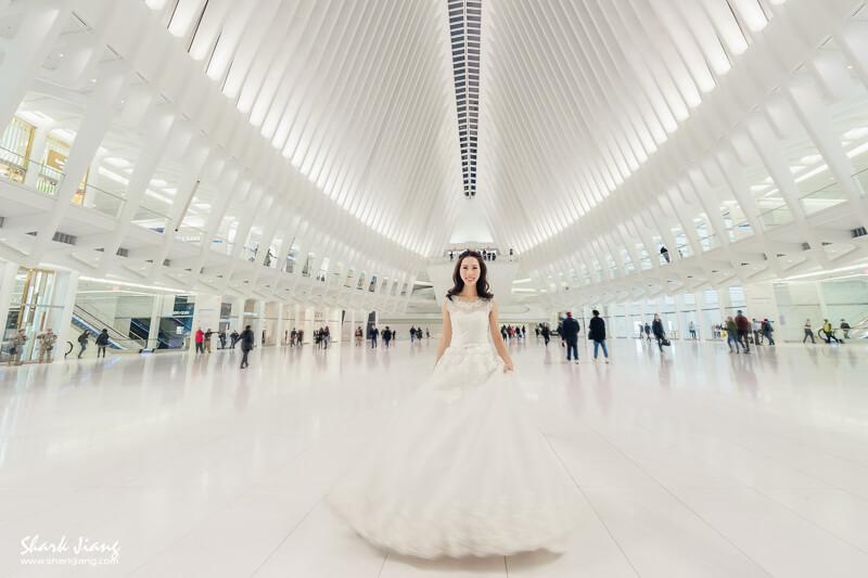 newyork,World Trade Center station,紐約婚紗,紐約婚紗景點,紐約拍攝景點, 紐約景點,紐約