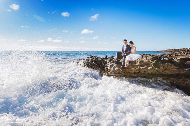 夏威夷海外婚紗