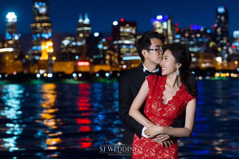 芝加哥婚紗照