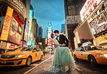 紐約婚紗照